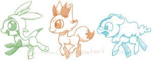 Ponymon Sketches 2