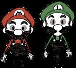 Don't Starve - Super Mario Bros.