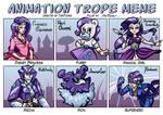 Animation Trope Meme - Rarity by TariToons