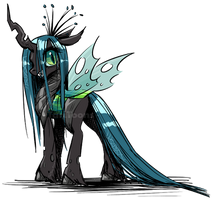 Queen Chrysalis by TariToons