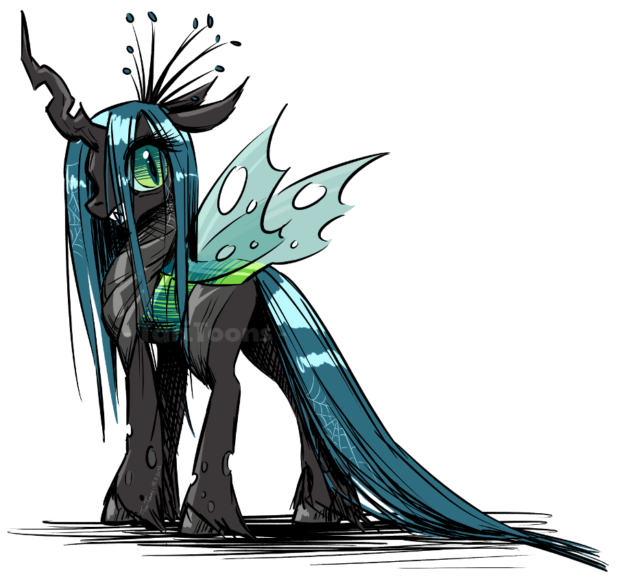 queen chrysalis hipster - photo #21