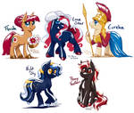 Nation Pony Requests: US States