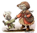 Orla and Muirenn