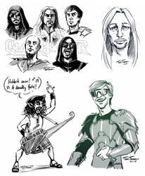 Power Metal Doodles