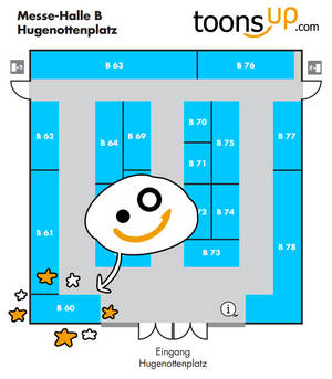 Comic Salon Hallenplan 1 by TariToons