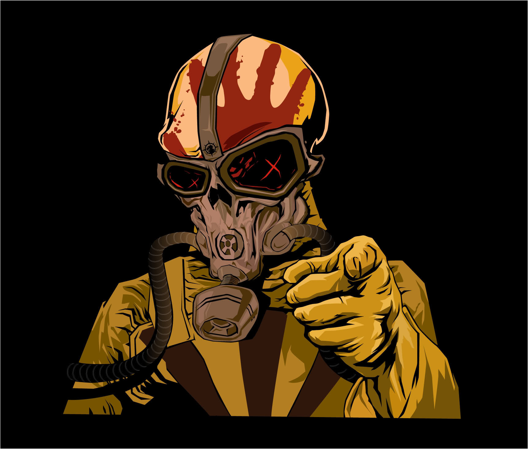 Five Finger Death Punch Skull Tattoos