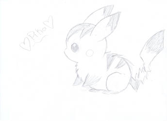 pika doodle by Pikalove10