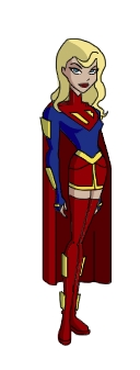 Batman Beyond era Supergirl II by Zal-Ta-TalOs