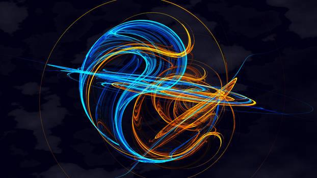 Saturn Yin Yang
