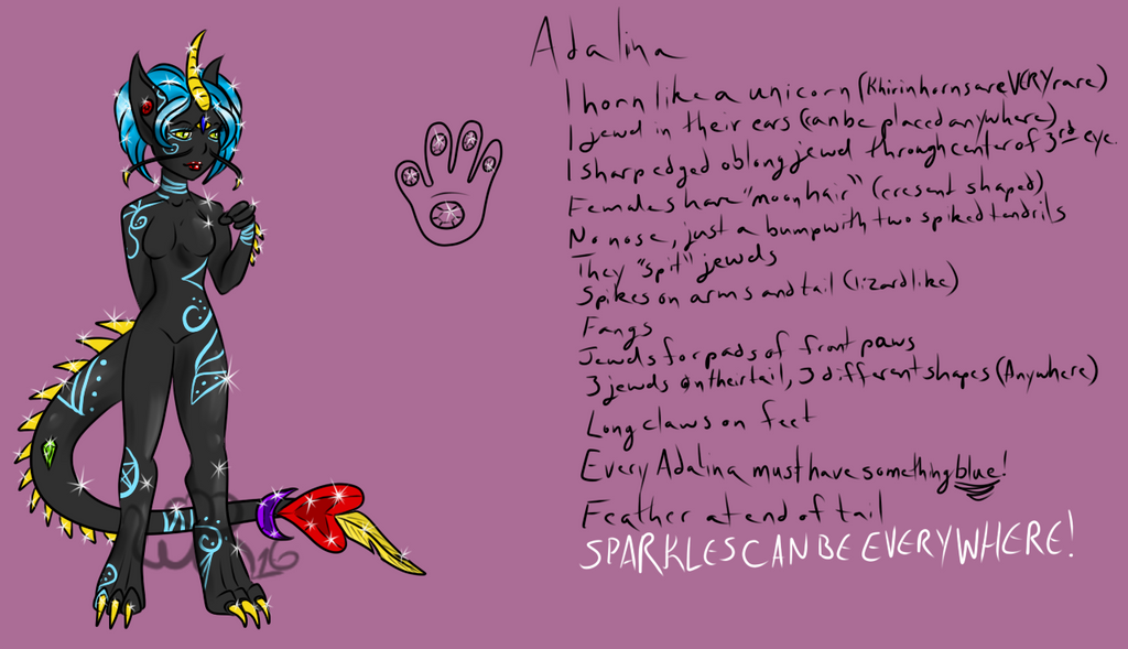 {Squeak Creation} Adalina Species by Lady-Willow-River
