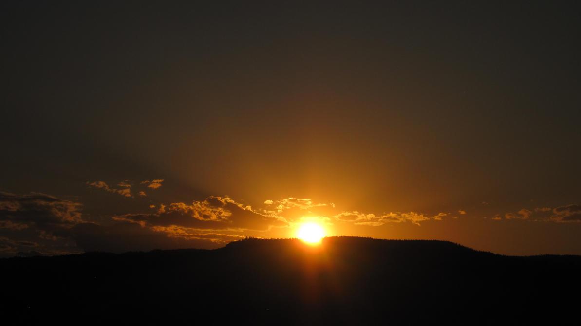 Sunset Number IDEK by Ashezth