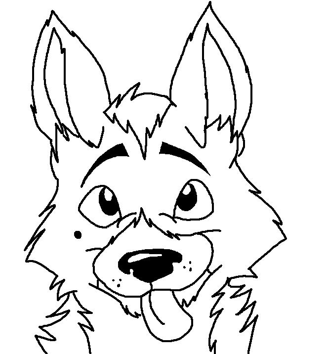 german s pup coloring page by sapphiretigress - German Shepherd Coloring Pages