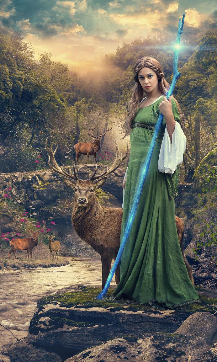 Fantasy Forest 01 by SonuGiteshrdl