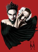 Black Swan by M-lovedAngel