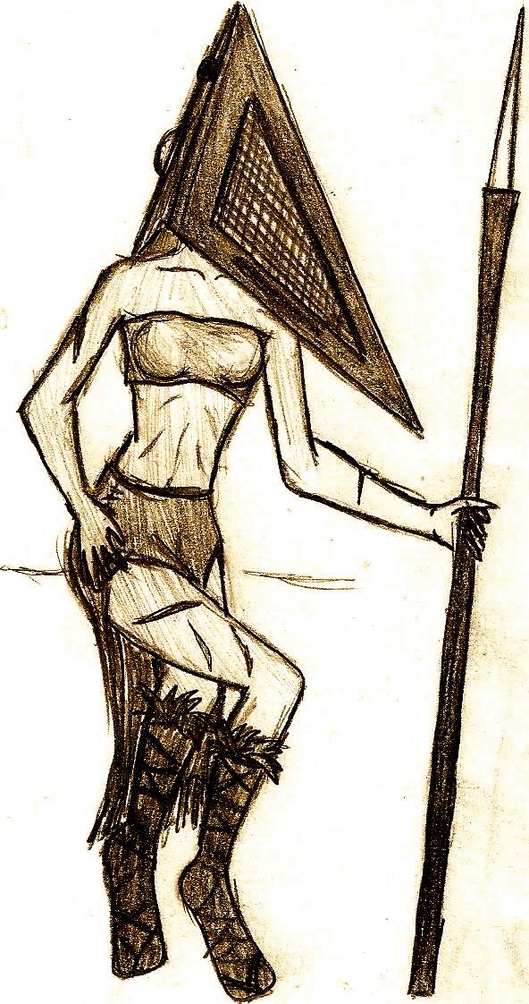 Female Pyramid Head By Shadowynight On Deviantart