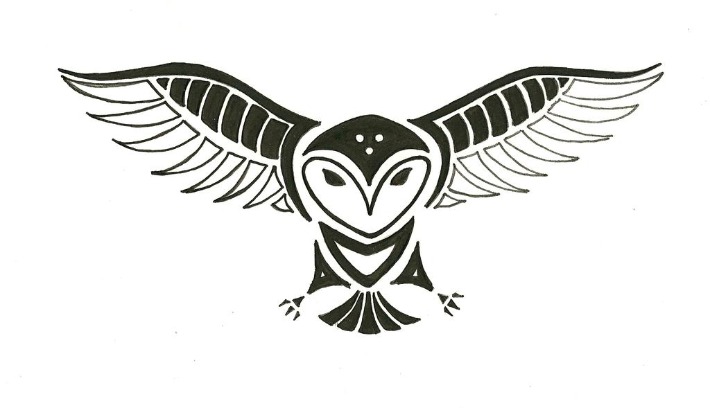 Totem Tats: Owl by ShadowyNight on DeviantArt
