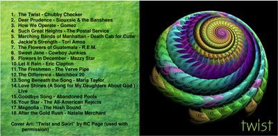 CD Mix: Twist by springchick
