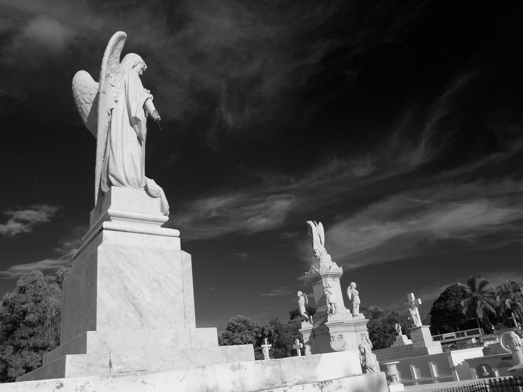 Cemetery in Grenada, Nicaragua #4 by vanfoto