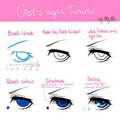 EYES 1: Ciel Phantomhive (left eye) by Lily-Draws
