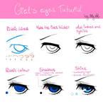EYES 1: Ciel Phantomhive (left eye)