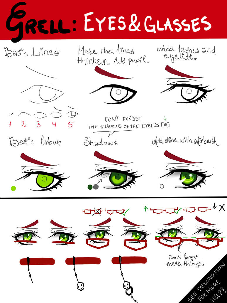 EYES 4: Grell Sutcliff by Lily-Draws