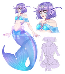 Siren adopt (OPEN) by Lily-Draws