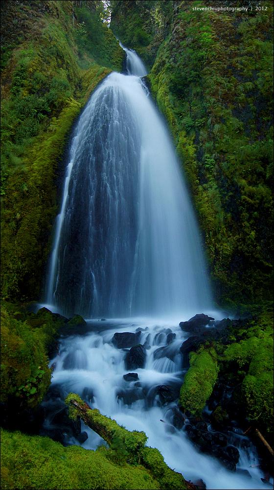 wahkeena falls by souk1501
