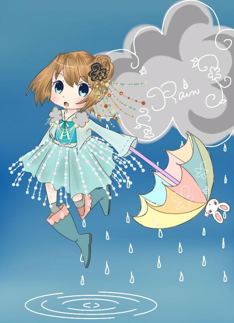 Rain-drops and Rain-bows by mallocchi