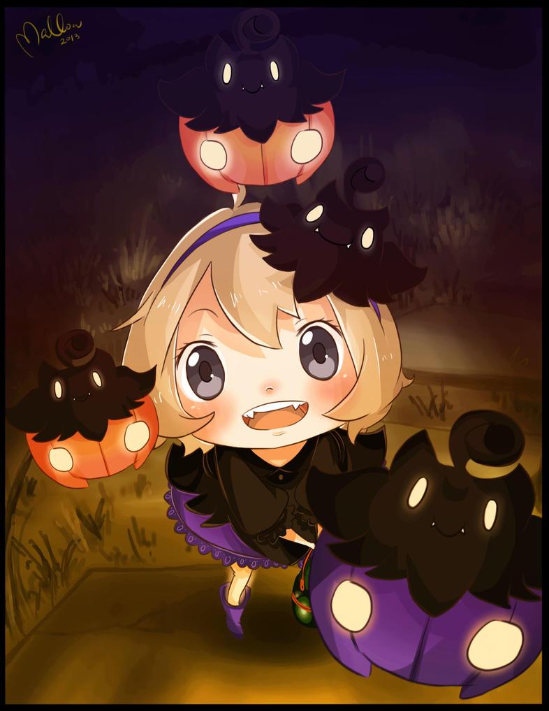 Pumpka-boooooo by mallocchi