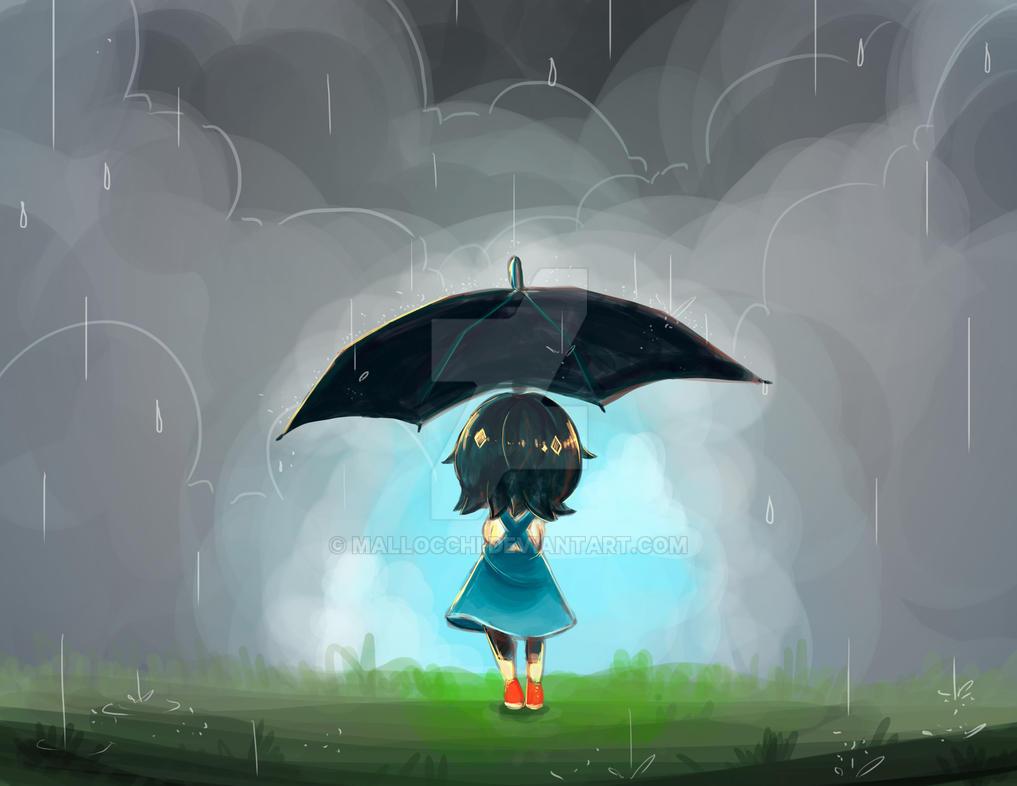 Umbrella Sky by mallocchi