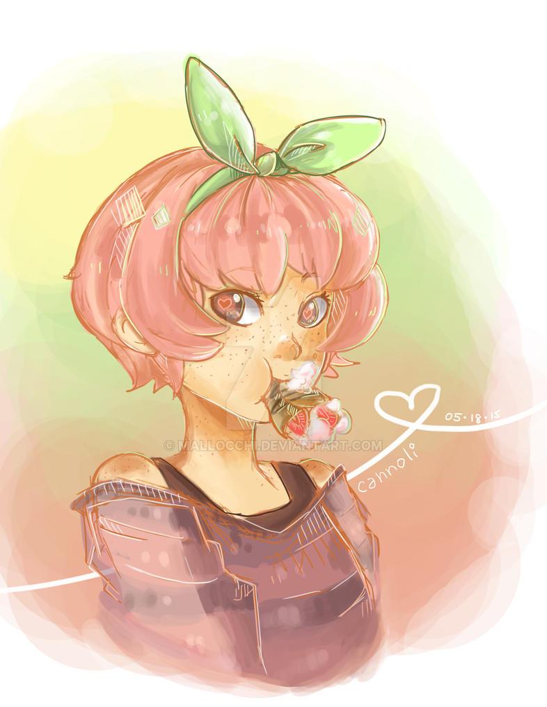 ADOPTABLE: Strawberry Cannoli [OPEN] by mallocchi