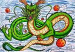 Dragon Ball Shenron by Dyewind