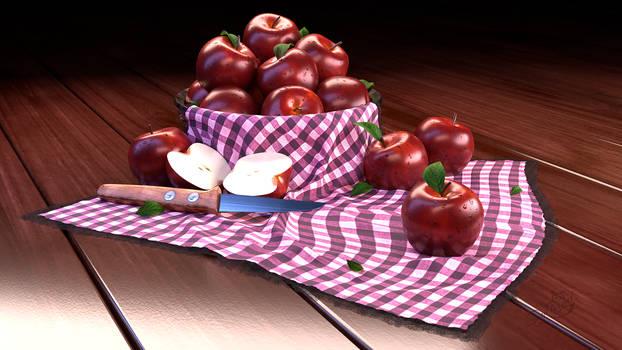 Blender Apples