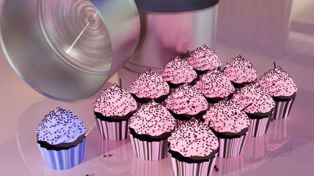 Anisotropic Shader and Cupcakes