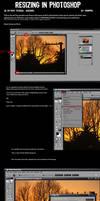 Resizing images for Deviantart