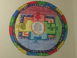 Colored-Pencil Mandala