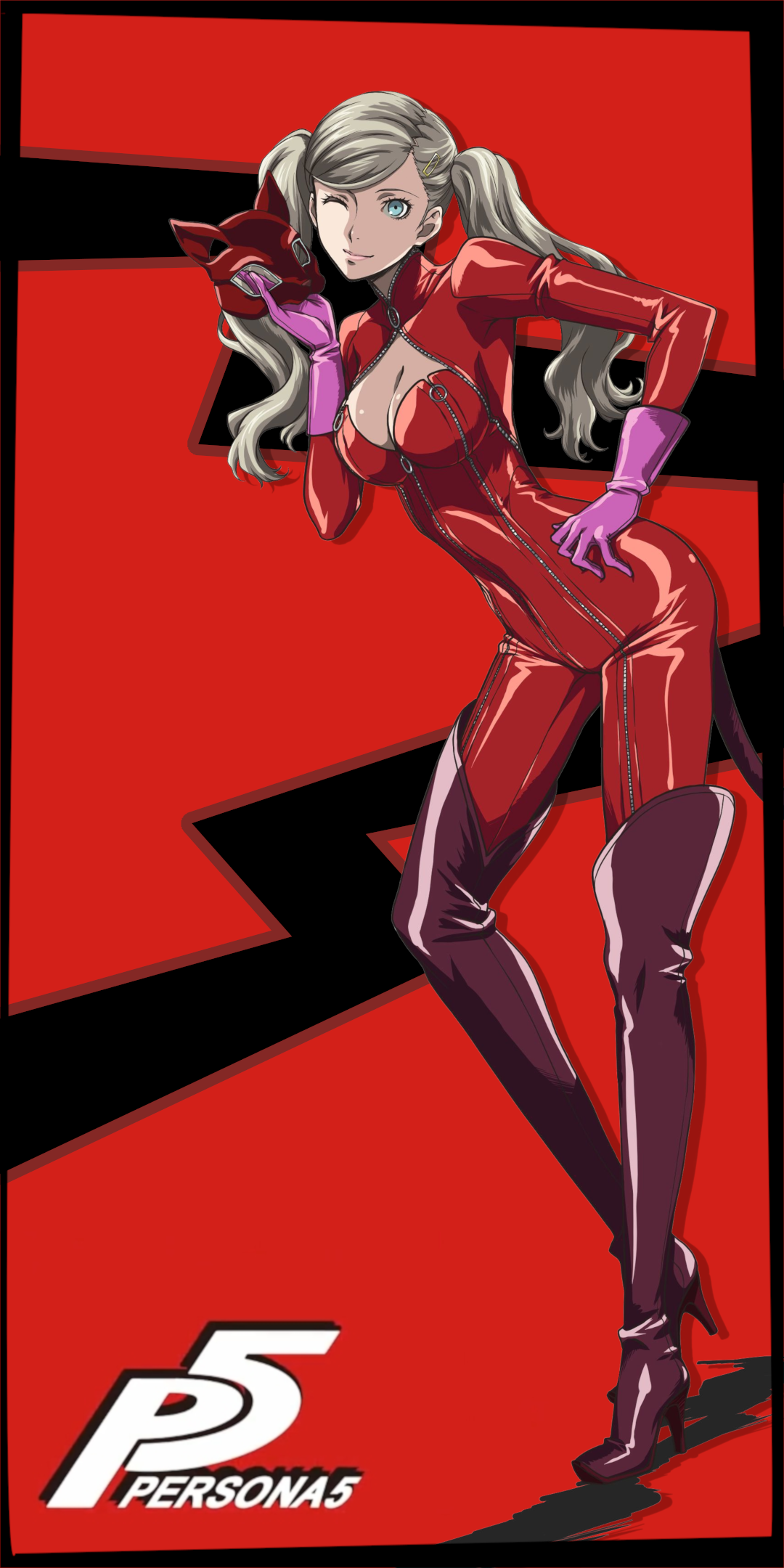Ann Takamaki Phone Wallpaper 18 9 By Ganedikt On Deviantart