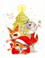 Merry Christmas by Weketa