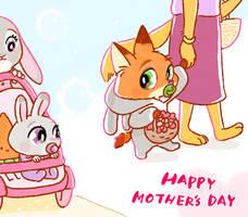 HAPPY MOTHER'S DAY by Weketa