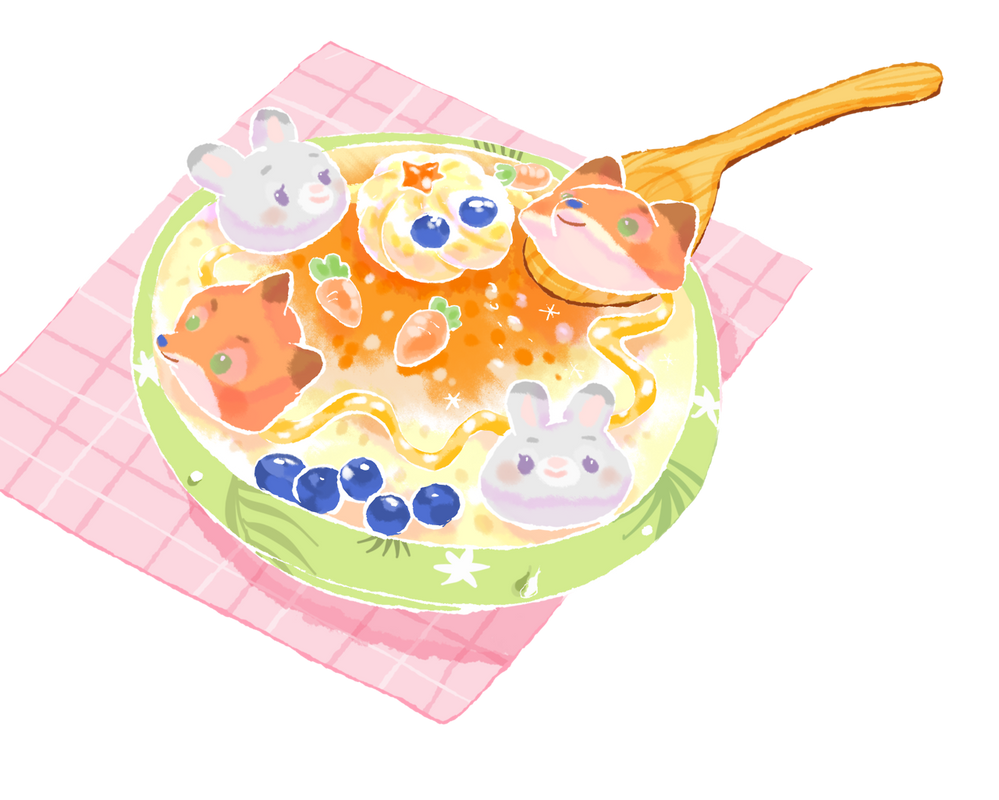 Shaved Ice with sweets by n09142