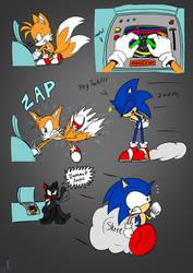 Dammit Sonic! - Tails by AZ-Derped-Unicorn