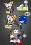 Dammit Sonic! - Rouge