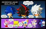 Hedgehog Anime Quillstyle by AZ-Derped-Unicorn