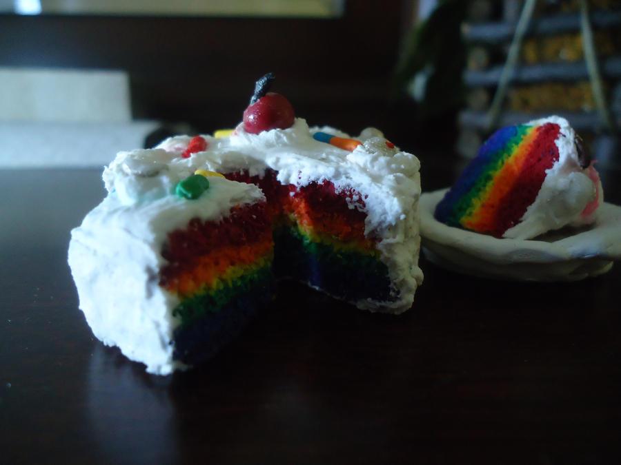Rainbow Cake by Artisto101