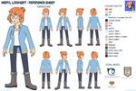 Meryl Reference Sheet/Turnaround