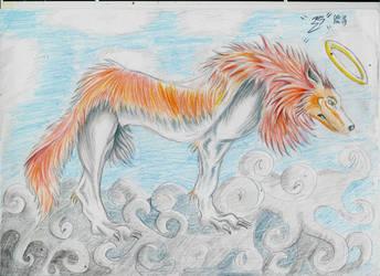 Fantastic wolf