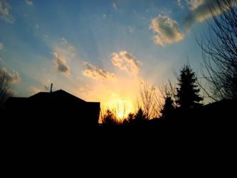 Sunset of Spring by skyindigo