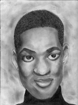 Will Smith Pencil Sketch