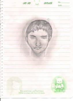 Man doodle