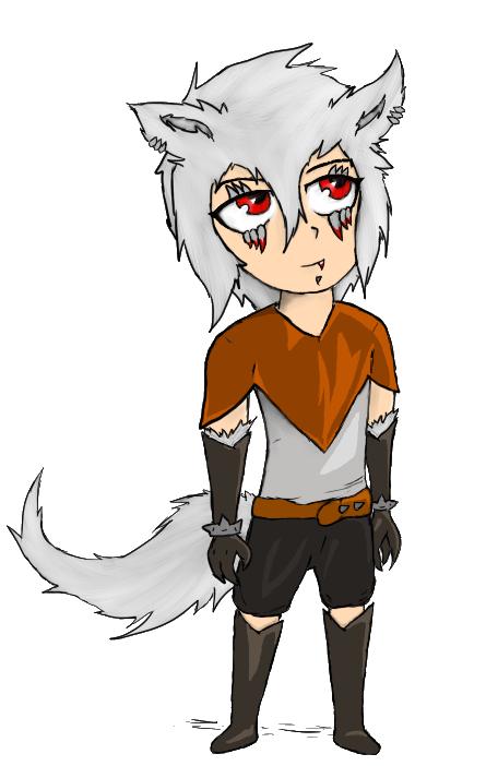 Chibi Wolf Demon Boy By Kalkanir On DeviantArt